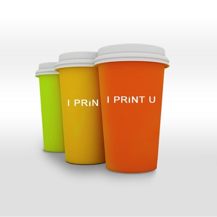 Бумажные стаканы с логотипом Харьков